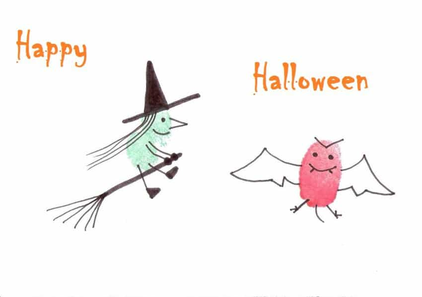 Fingerabdruckbild_Happy Halloween