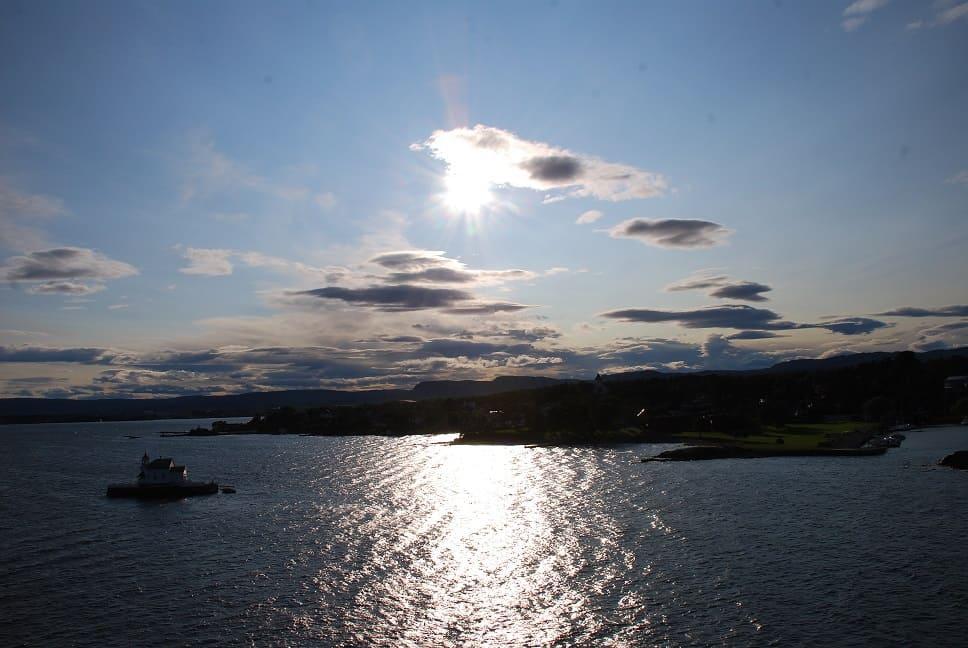 Norwegen_Oslo_kleine Insel im Fjord