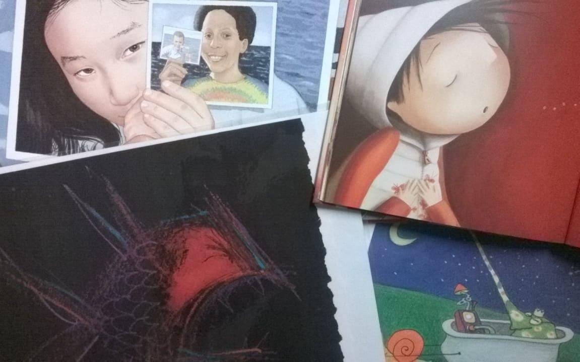 Rezension zu Bilderbüchern als Schreibimpuls fürs Kreative Schreiben oder für Schreibwerkstätten