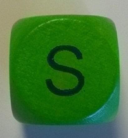 Der Buchstabe S aus den Wochen-Schreibtipps fürs Kreative Schreiben