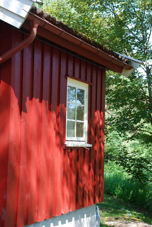 Hütte am Bogstadsvann in Oslo Norwegen