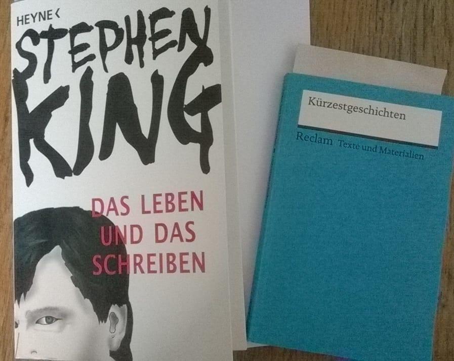 Das Jahr des Taschenbuchs: rund ums Kreative Schreiben - Stephen King und Kürzestgeschichten