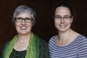 Luise Richard und Maike Frie - Dozenten der Workshopreihe Presse- und Öffentlichkeitsarbeit