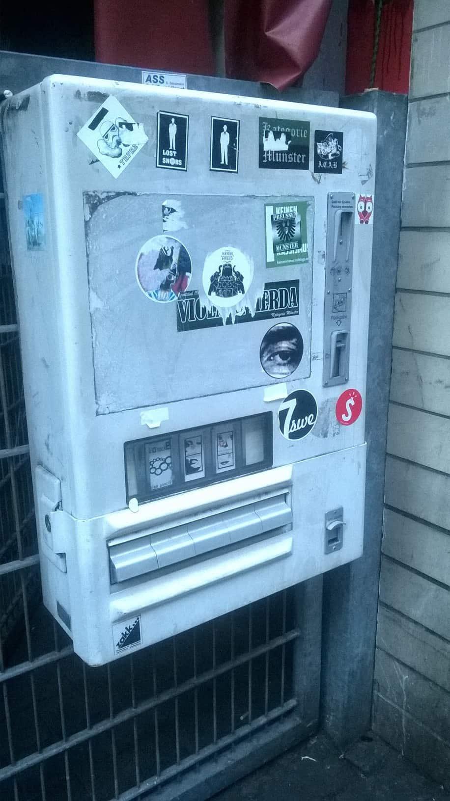 Zakk Literaturautomat