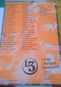 Lange Leipziger Lesenacht