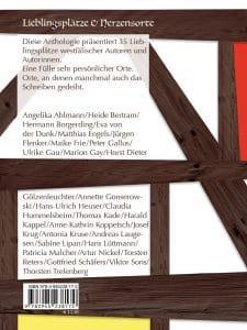 Lieblingsplätze von Autoren aus Westfalen in der Anthologie Schön hier!