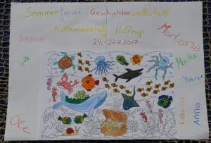 Ferienwerkstatt-Kreatives-Schreiben-Gruppenplakat