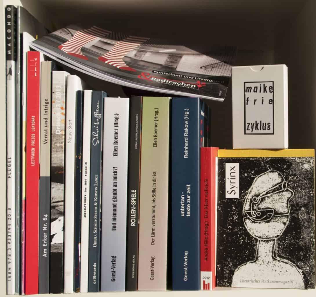 Veröffentlichen in Literaturzeitschriften: Maike Frie im Podcast von Andreas Schuster