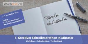 Flyer-Schreibmarathon-Schreibraum-Münster-November-2018-Titelseite