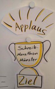 Applaus-für-den-Schreibmarathon-im-Schreibraum-Münster-Maike-Frie