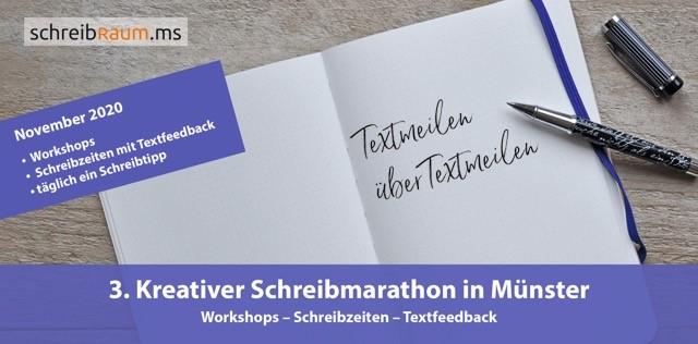 Schreibmarathon-2020-Flyer-Wiebke-Werner-Funkenflug