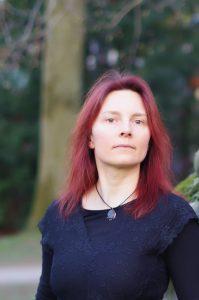 Die Münsteraner Autorin Katja Angenent