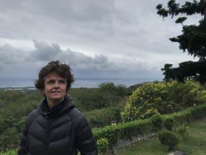 Alice Grünfelder schreibt in Taiwan, hier Dulan