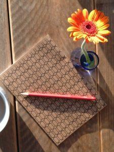 Notizbücher helfen beim Schreiben ...